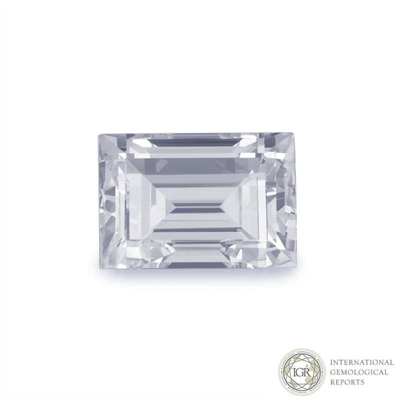 Baguette Cut Diamond 3.64ct F/VS2